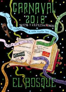 Cartel Carnaval El Bosque 2018