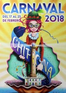Cartel Carnaval de Chipona 2018