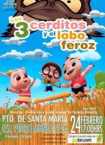 Los tres cerditos - El Puerto de Santa María