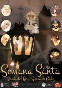 Cartel Semana Santa Prado del Rey 2018 - Semana Santa en la Sierra de Cádiz