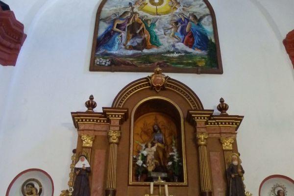 Interior Iglesia San José - El Gastor