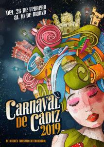 Cartel Carnaval de Cádiz 2019