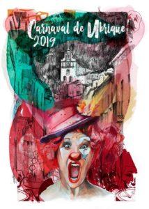 Cartel Carnaval de Ubrique 2019