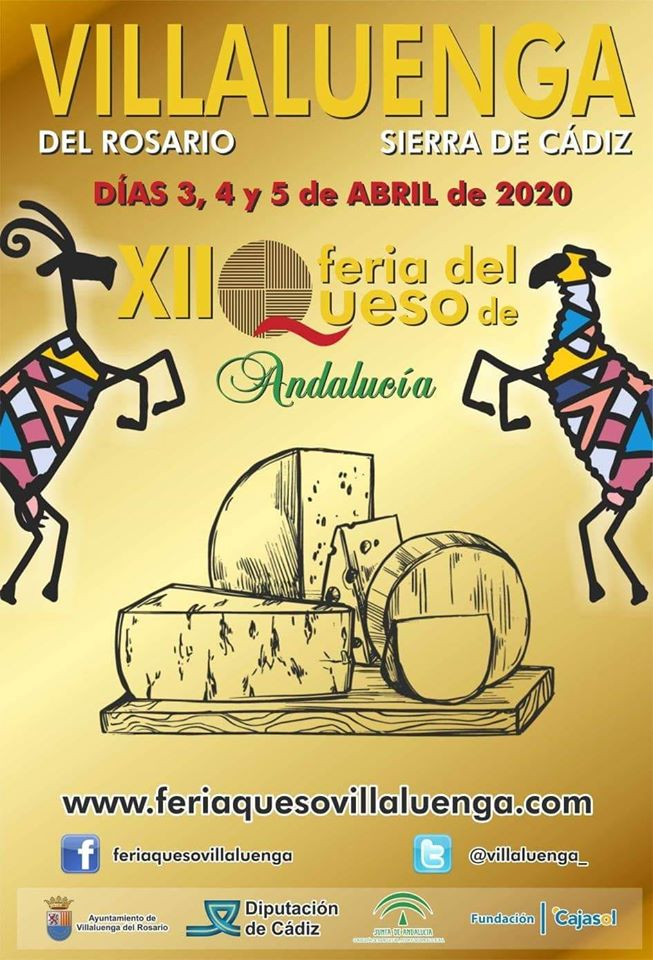 XII Feria del Queso de Andalucía - Villaluenga del Rosario