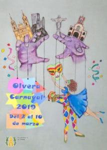 Cartel Carnaval de Olvera 2019