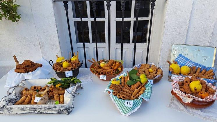 Concurso repostería Gañotá de Ubrique - Fiestas gastronómicas en la provincia de Cádiz