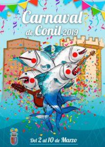 Cartel Carnaval de Conil 2019