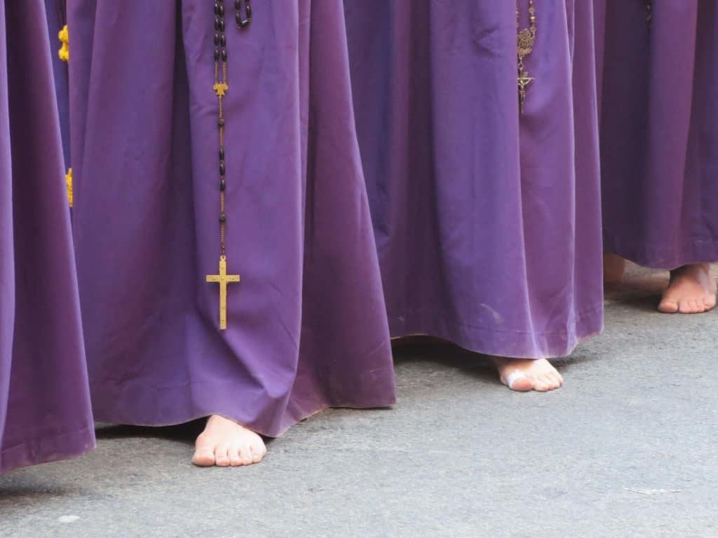 Nazarenos de la Semana Santa de Andalucía