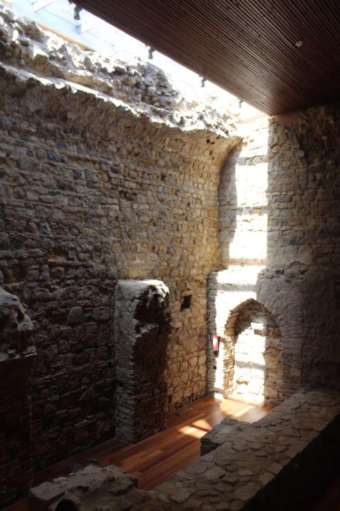 Interior Castillo Alcalá de los Gazules