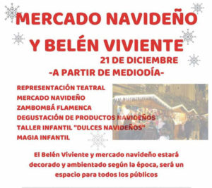 Mercado Navideño y Belén Viviente de Alcalá del Valle