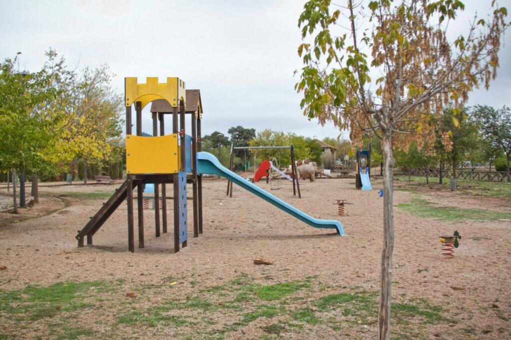 Área recreativa del yacimiento.