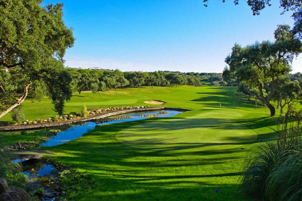 Club de Golf Valderrama. Hoyo 4 - La Cascada