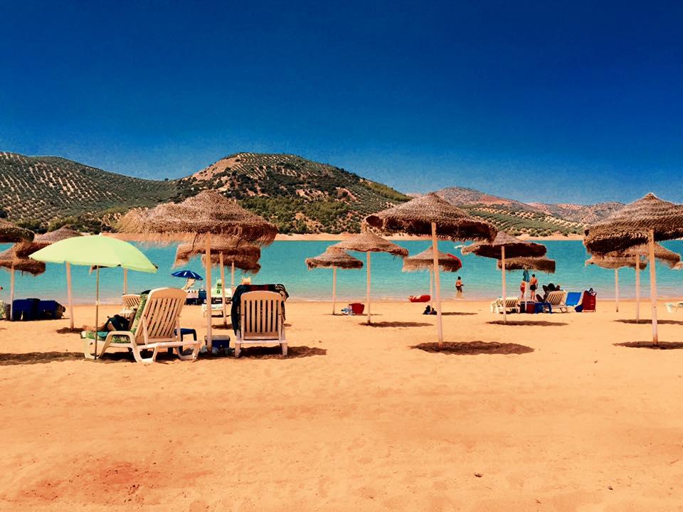 Playa de interior Embalse De Iznájar
